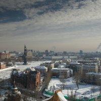 Москва. Вид со смотровой площадки Храма Христа Спасителя.1. :: Андрей Ванин