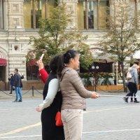 Селфи на Красной площади :: Вячеслав Маслов