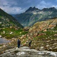 суровые горы :: Elena Wymann