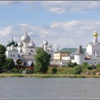 Ростов Великий. Вид на Кремль.. :: Николай Панов
