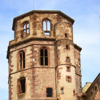 Гейдельберский замок Германия :: Eleonora Kisinger