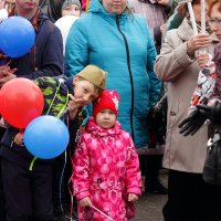 Смотри Настя, тебя дедушка фотографирует... :: Андрей Дурапов