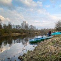 Река Оредеж в Нестерково :: Юрий Бутусов