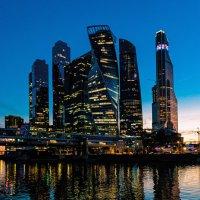 Москва сити :: Игорь Дутов