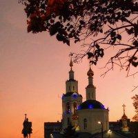 Ушедший день и Богоявленский собор :: Леонид Абросимов
