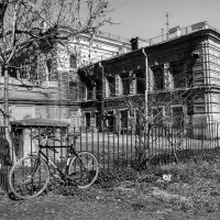 Пейзаж с велосипедом :: Елена Кириллова