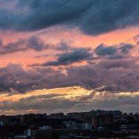 Красивый закат. :: Владимир Безбородов