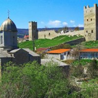 Древняя Феодосия (Генуэзская крепость) :: Анатолий Збрицкий