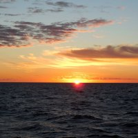 Закат на Ладожском озере :: Надежда