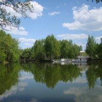 Майским днём на озере :: Татьяна Георгиевна