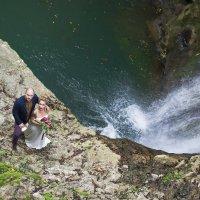 Аня и Слава в горах Абзахии :: Евгения Лисина