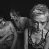ophistication in the glamor portrait. Photo theater. :: krivitskiy Кривицкий