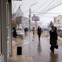 На Кольцовской улице. Конец марта :: София