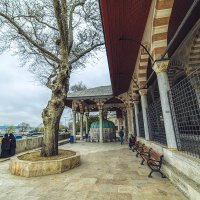 при мечети Михримах султан в Стамбуле :: Ирина Лепнёва
