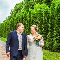 Свадебная прогулка... :: Галина Шляховая