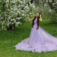 Яблони в цвету. :: Александр Бабаев