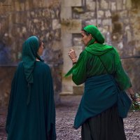 Иерусалим и его жители-разговор в ночи. :: Shmual Hava Retro