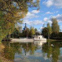 На озере в конце сентября :: Татьяна Георгиевна