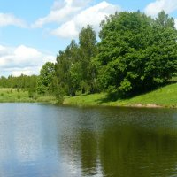 Лесное озеро :: Вячеслав Маслов
