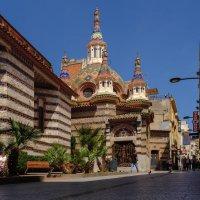 Церковь Сан Рома, Ллорет де мар испания :: Андрей Бондаренко