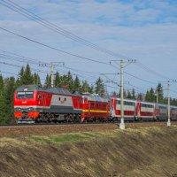 Поезд :: Алексей Уланов