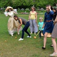 Желающих освоить крикет было достаточно! :: Татьяна Помогалова