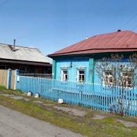 Голубой дом :: Светлана Рябова-Шатунова