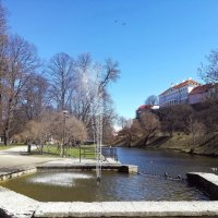 Тоомпарк – парк и пруд Шнелли, Таллин :: veera (veerra)