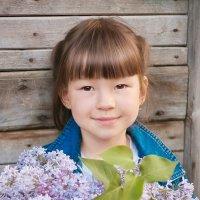 Девочка с серенью :: Оксана Романова