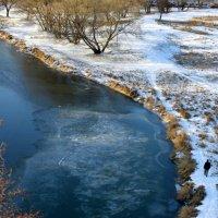 река Киржач ноябрь :: Любовь