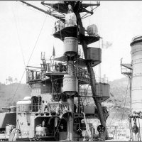 "I.J.N.battlecruiser ""Kirishima"" undergoing maintenance and training at Sasebo, Japan, 04.0 :: Александр"
