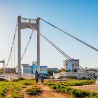 Парковый мост. Йошкар-Ола :: Андрей Гриничев