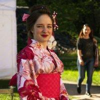 Девушка в кимоно :: Aнна Зарубина