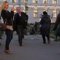 На мосту через канал Грибоедова :: Алла Жаркова