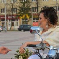 Ну что, красивая, поехали кататься :: Андрей + Ирина Степановы