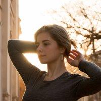 Портрет на закате :: Кристина