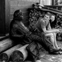Давно ты тут сидишь....? :: leonid