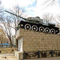Танк Т-34 :: Лариса Вишневская
