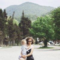Я с сыном :: Дарья Наумович