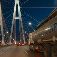 Вантовый мост. СПБ. :: Евгения Кирильченко