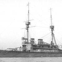 "английский броненосец ""HMS Lord Nelson"" 1909 . :: Александр"