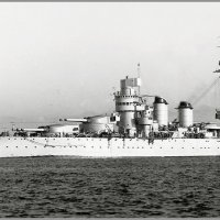 "Italian battleship ""Giulio Cesare"" after reconstruction. :: Александр"