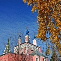 """Церковь Георгия """"За верхом"""" :: Лариса Вишневская"""
