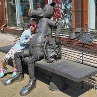 Волк и девочка :: Тамара Бедай