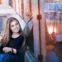 вечерний дождь :: Мила Гусева