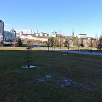 Панорама кремля в Казани :: Ирина Козлова