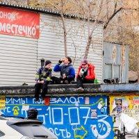 после школы :: Dmitry i Mary S