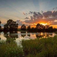 Летний вечер в деревне. :: Александр Тулупов