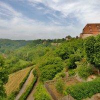 Северная часть города Ротенбург-об-дер-Таубере расположена в прекрасной долине Таубер. :: backareva.irina Бакарева
