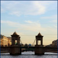 Мост Ломоносова :: san05 -  Александр Савицкий